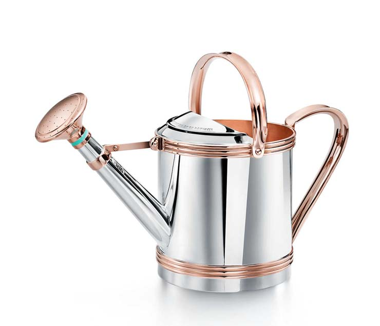 Sterling Silver and Copper Watering Can, $35,000