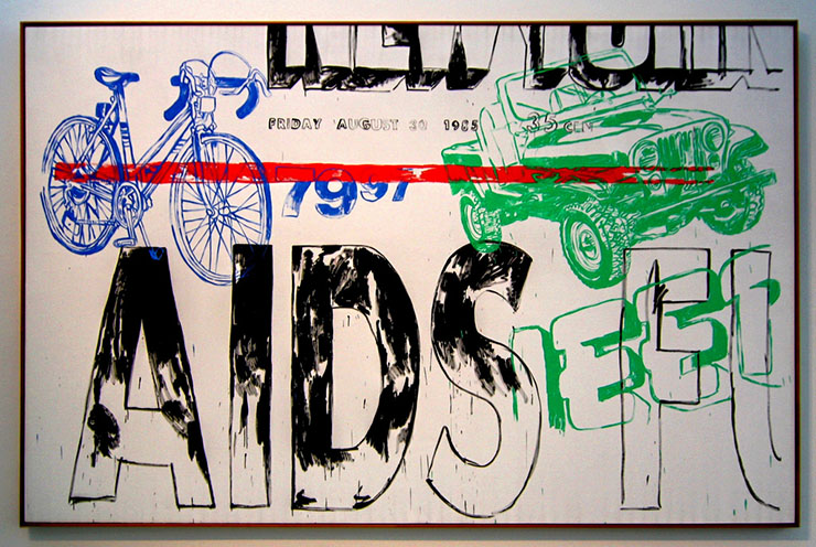 AIDS, Jeep, Bicycle, 1985-86