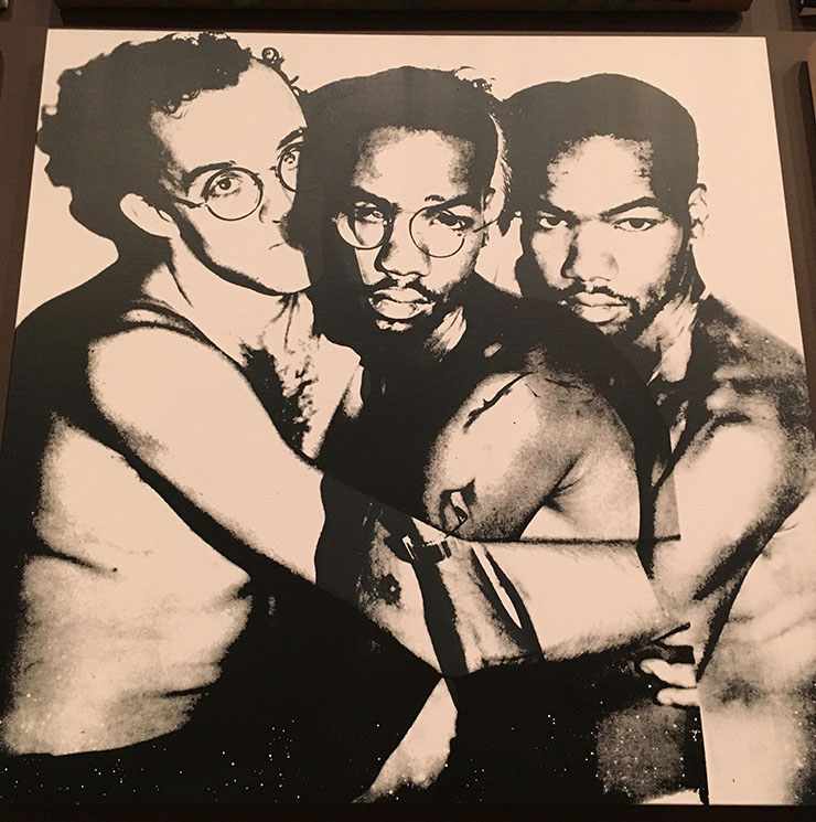 Keith Haring & double Juan Dubose