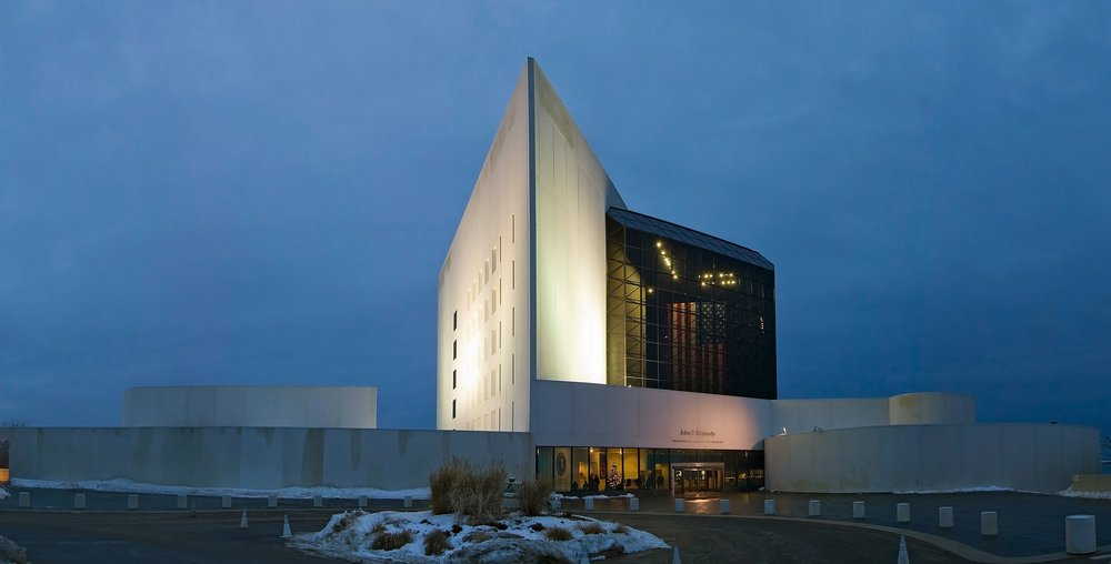 """Pei considered the John F. Kennedy Library """"the most important commission"""" in his life."""