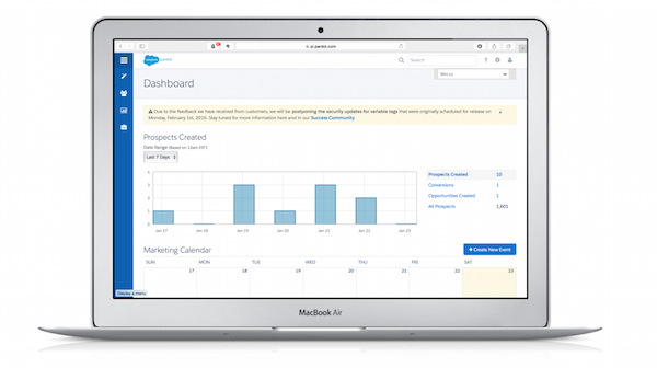 Blirt is a Salesforce Registered Consulting Partner