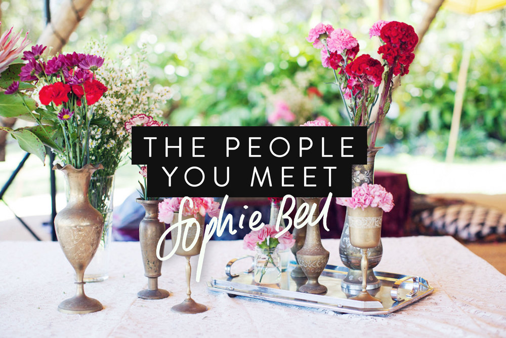 The People You Meet  | freshbysian.com