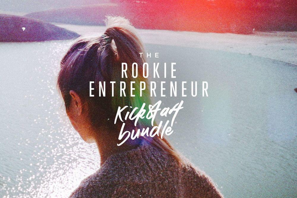 The Rookie Entrepreneur Kickstart Bundle is here! | freshbysian.com