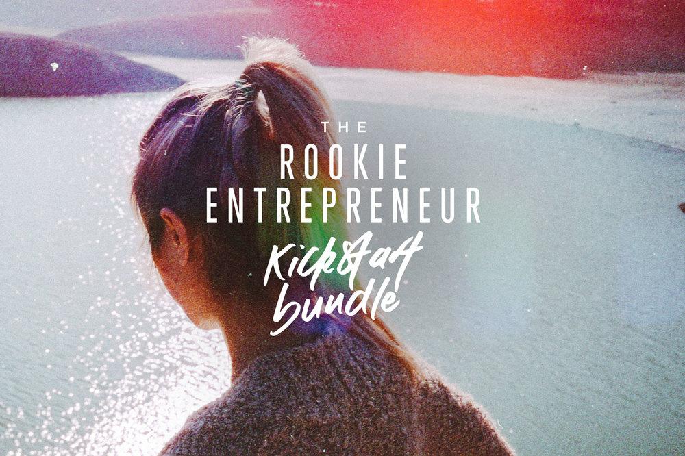 The Rookie Entrepreneur Kickstart Bundle is here! | freshbysian.com