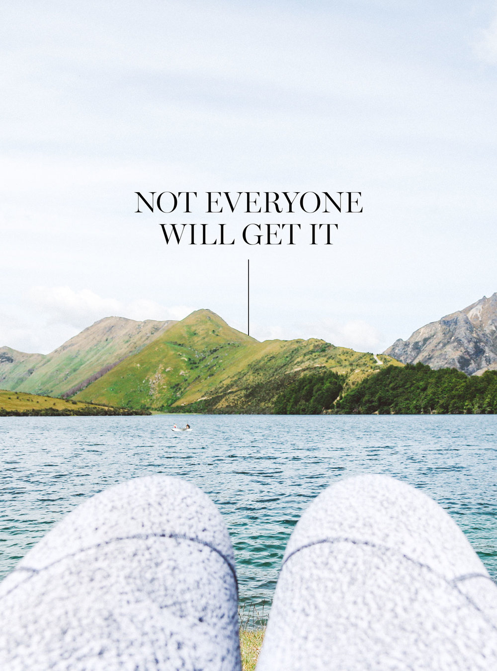 Not everyone will get it | freshbysian.com