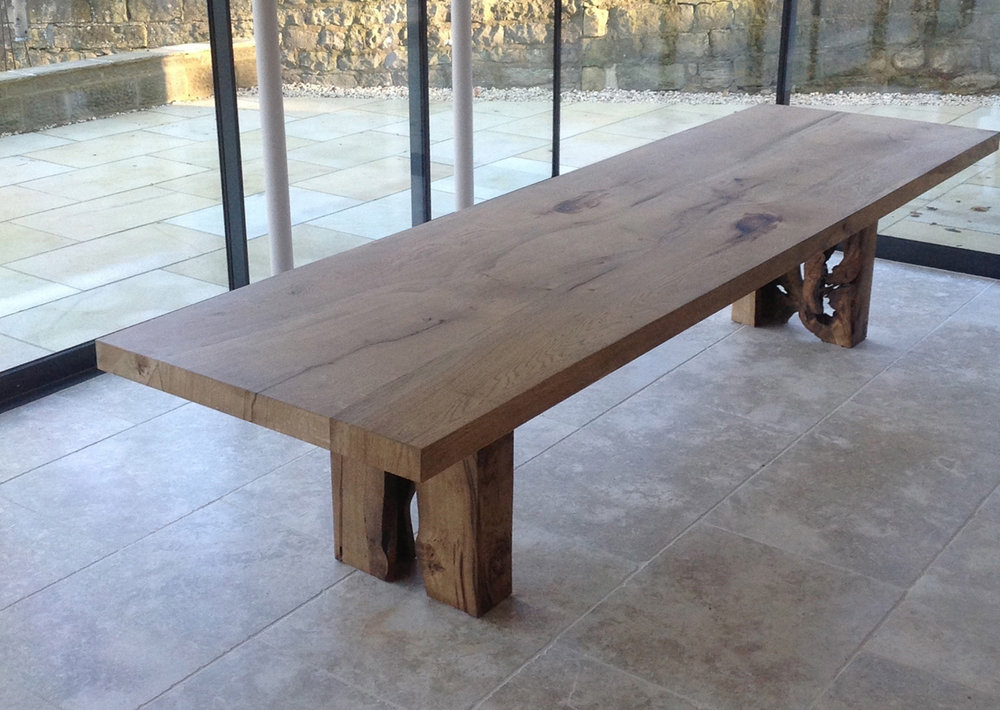Ordinaire 16English Oak Table For Clare_1