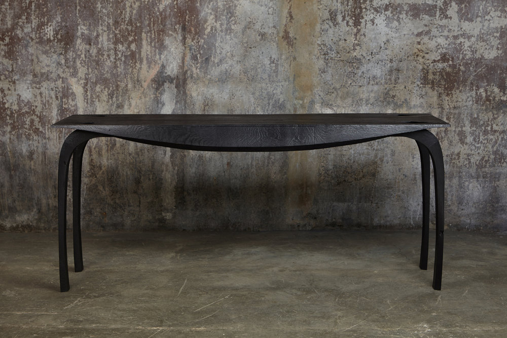 Desk In Ebonized English Oak, Design No 5, 2018