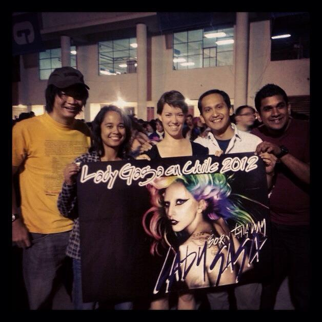 Lady Gaga in Chile!