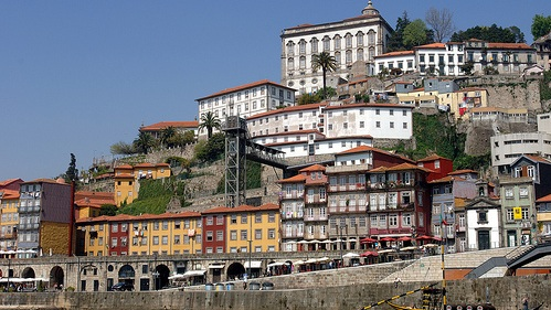 Porto - Rising up from the Douro River