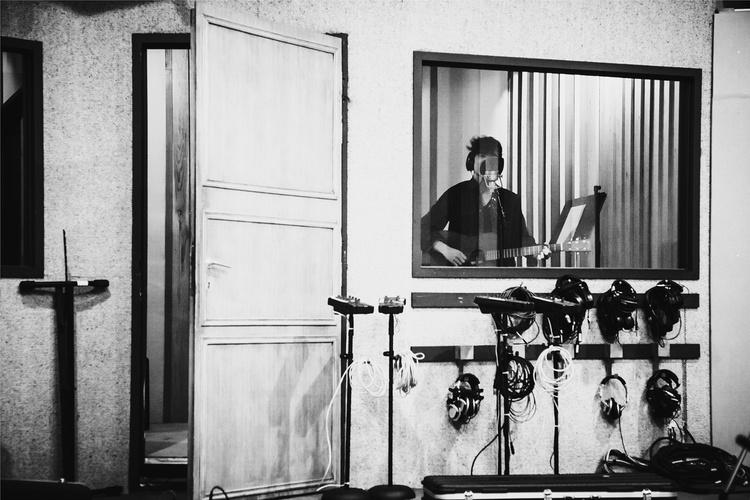 Ziggy in the studio, 2013