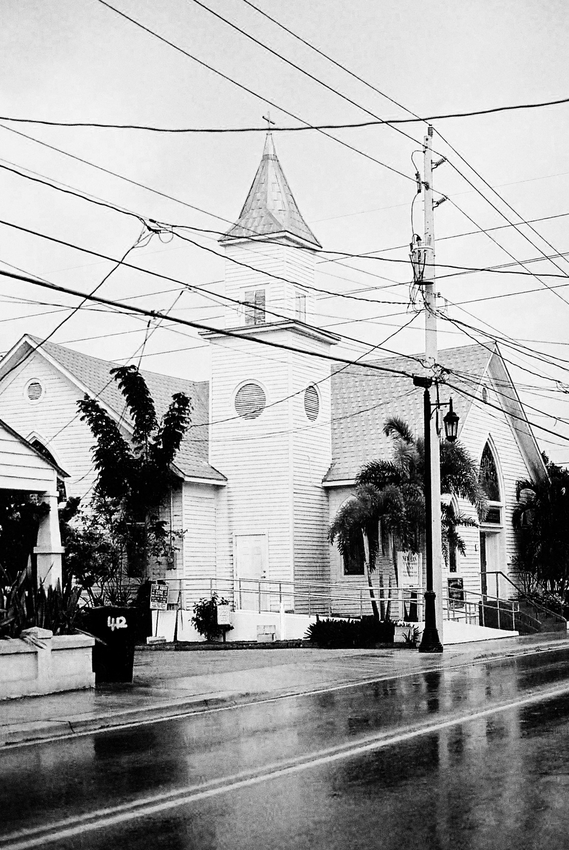 Key West rain  (Canon A-1)