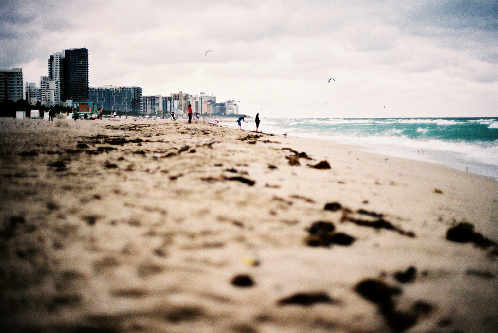South Beach, Florida, Jan 2014 (canon A1)