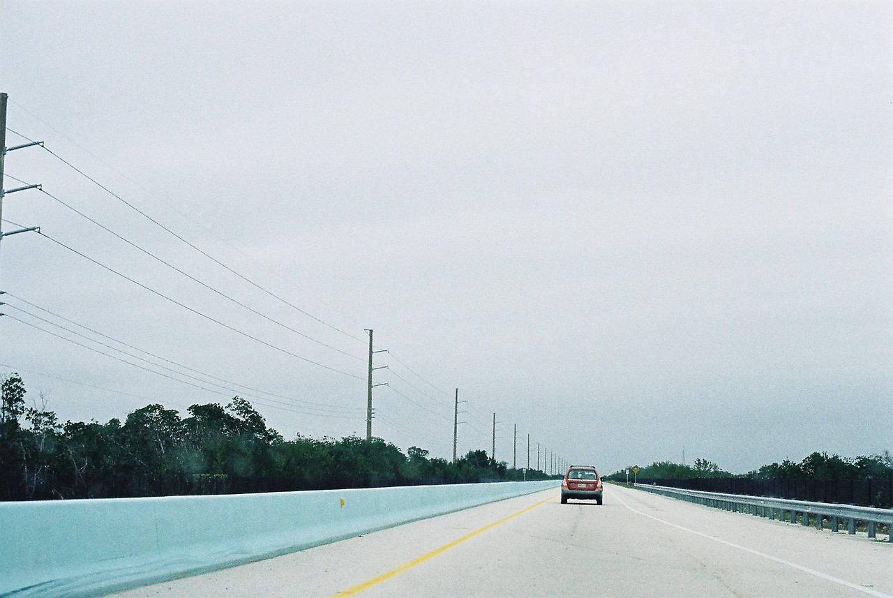 I'd give my left-little-toe for a road trip right now. Florida, Jan 2014 (Canon A1)