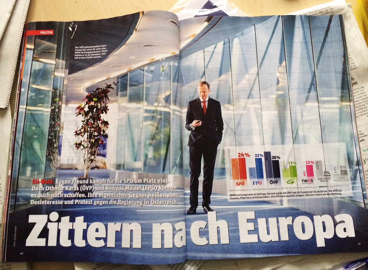 In this weeks 'News' (Austria)