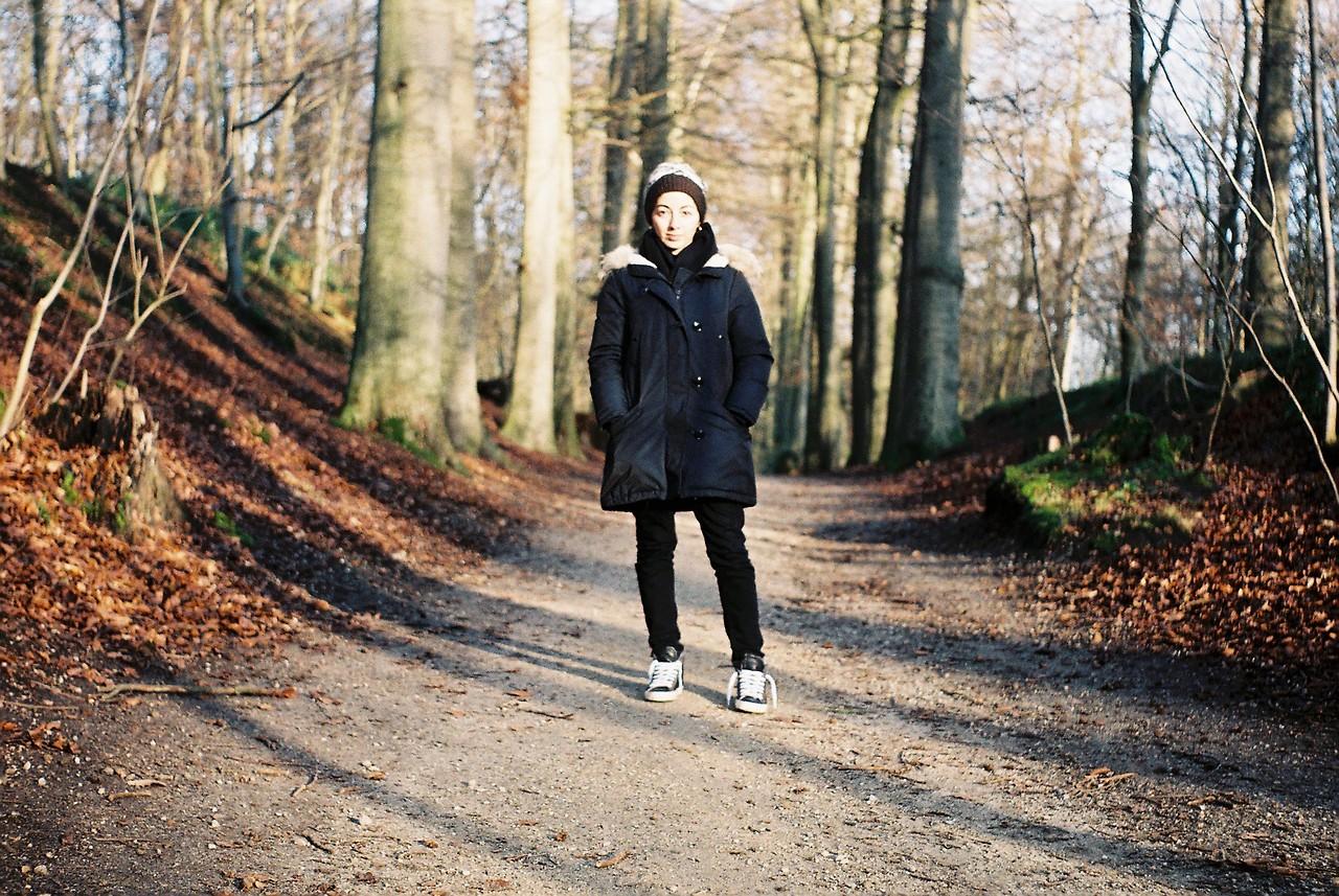 Canan @ Forêt de Soignes, Belgium 2014 (Zeiss Ikon Contessa)