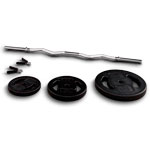 EZ Curl Bar and weights ($129.95)