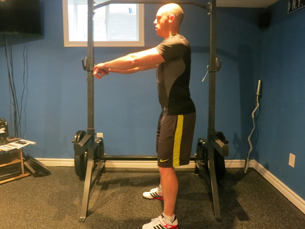 Incomplete hip extension