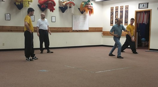 Sifu Henry Chung teaching Instructor's class.
