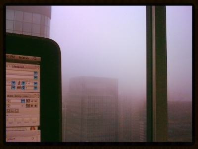 Just a view from one of my desks in midtown Manhattan.