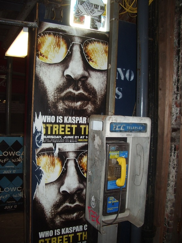 Remember pay phones?! What a hoot.