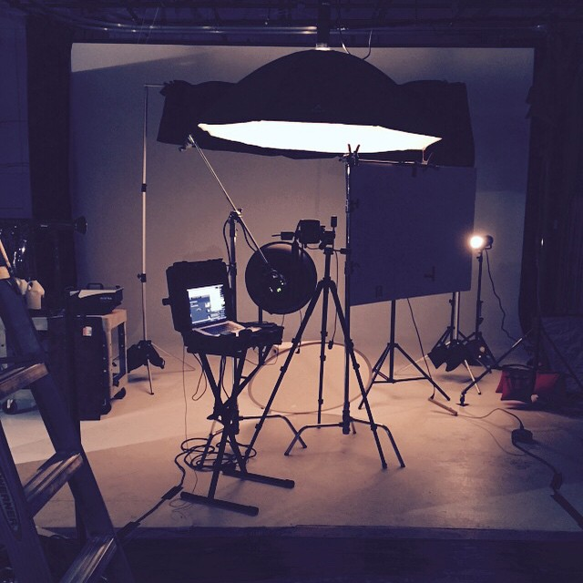 Today's setup! Let's make some pretties !! ;) #photography #nikon #prophoto #wellcanmedia #aveda