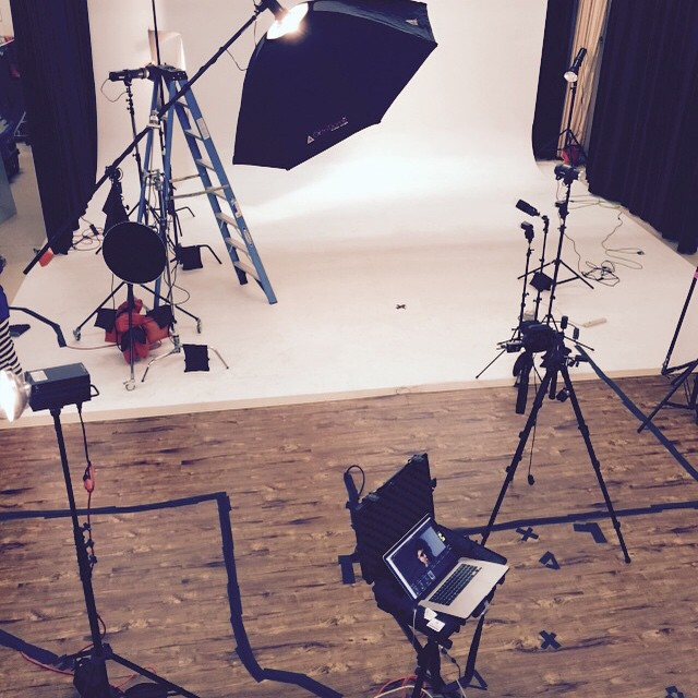 Today's setup. Minimalist light source #nikon #prophoto #aveda #nyc