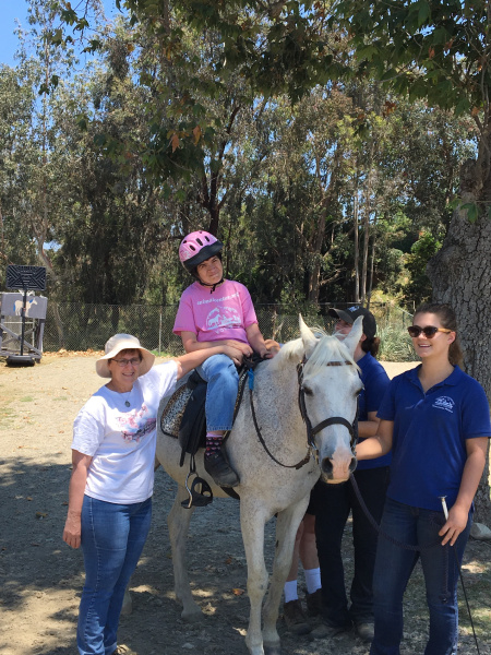 Therapeutic horse riding