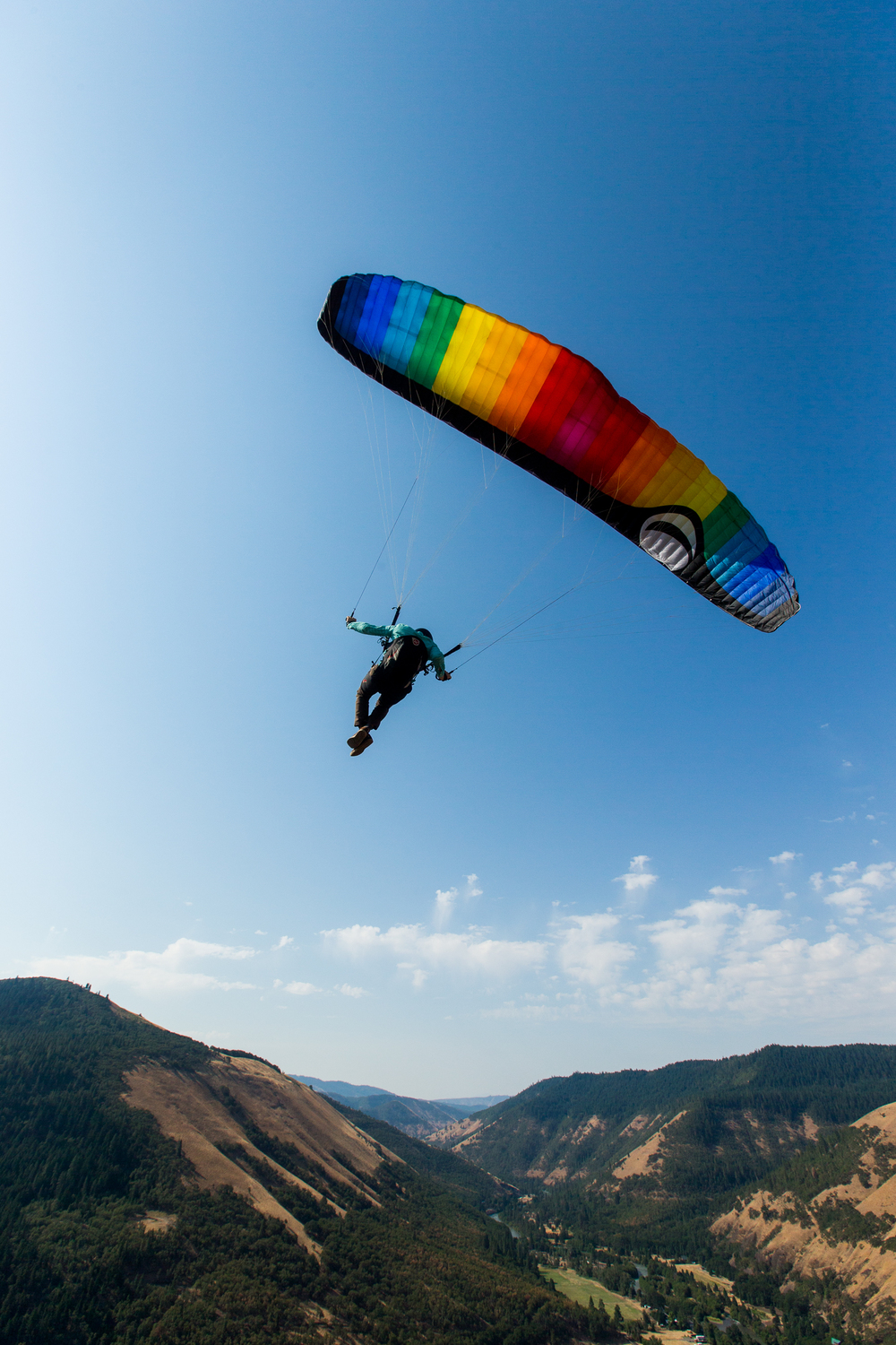 Paragliding in Washingon