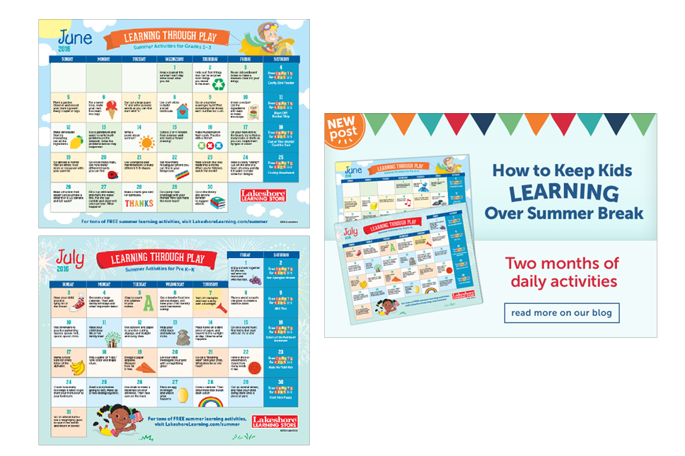 Summer Learning Calendar