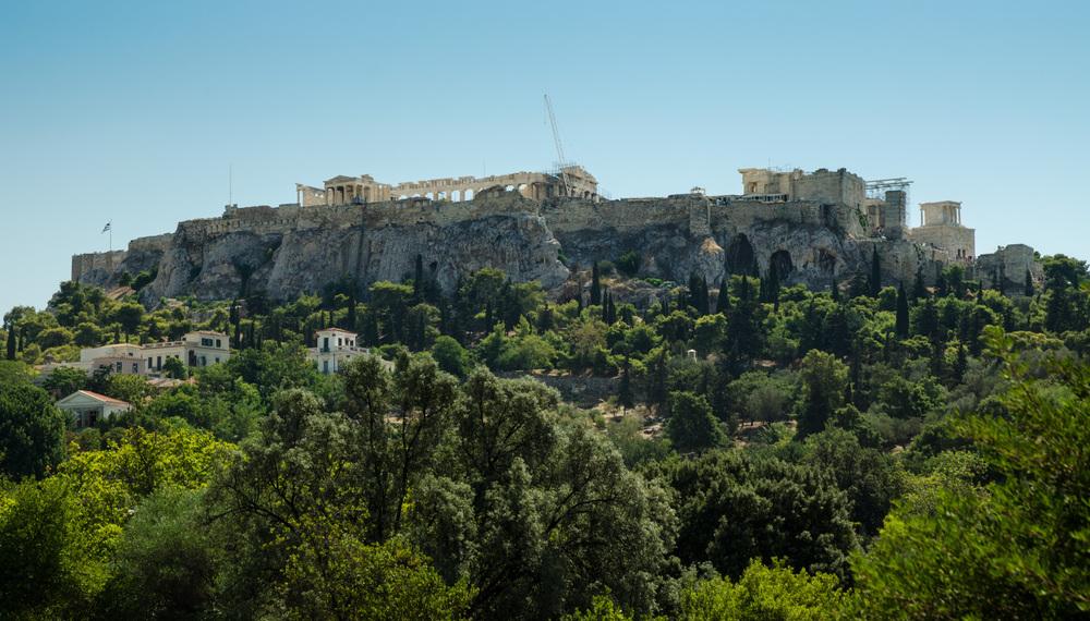 Acropolis from Agora