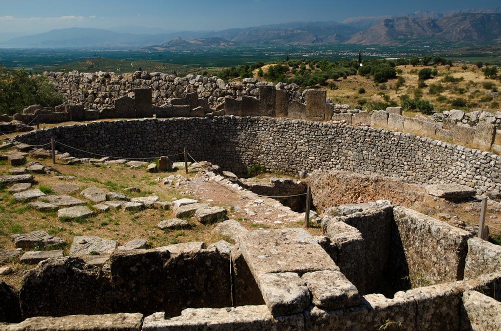 Burial Pit - Mycenae