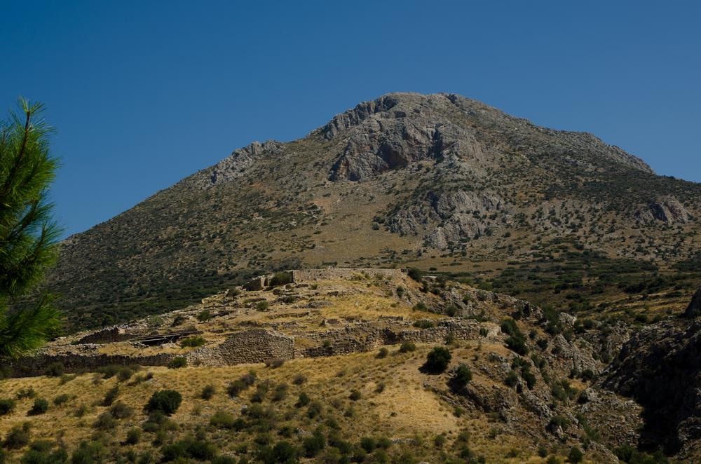Citadel at Mycenae 13th Century BC