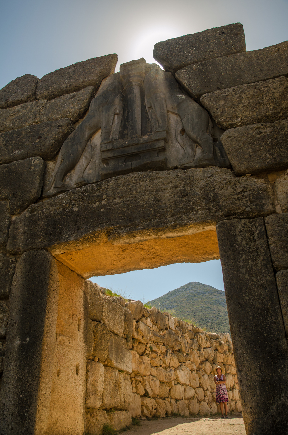 Lions Gate, Mycenae, Greece