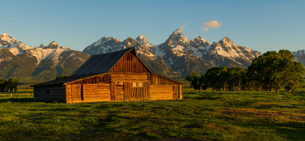 Grand Tetons Moulton Barn