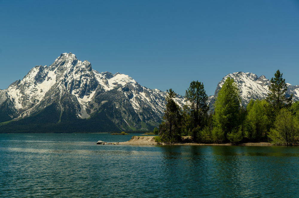 Grand Tetons - Jackson Lake
