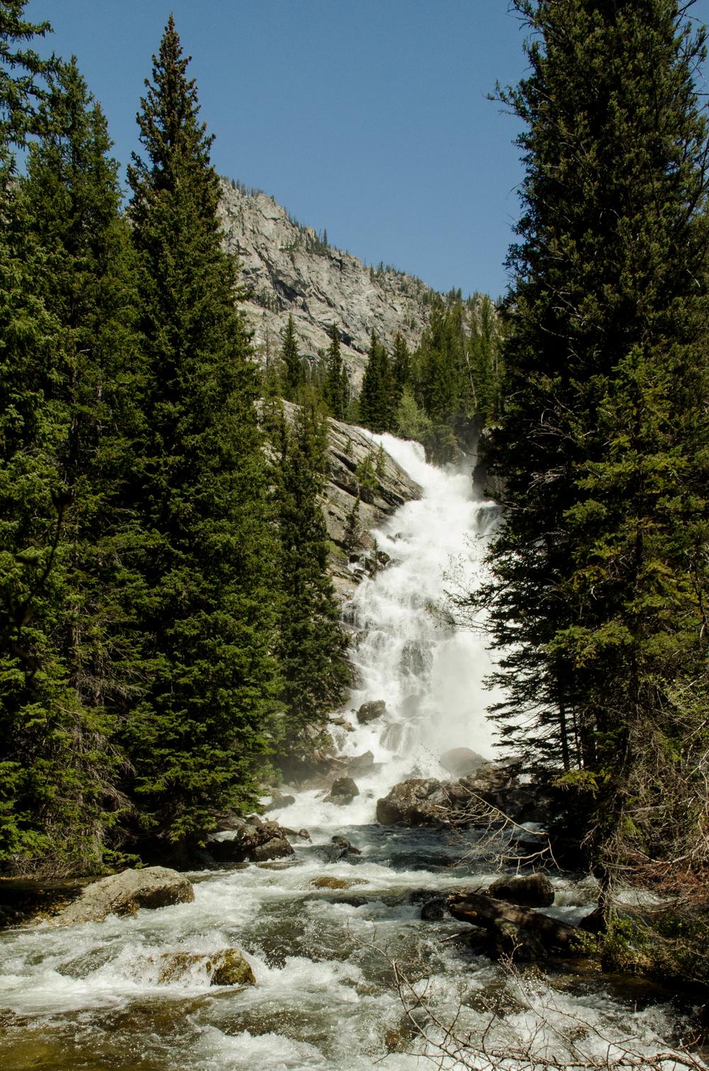 Grand Tetons - Cascade Falls