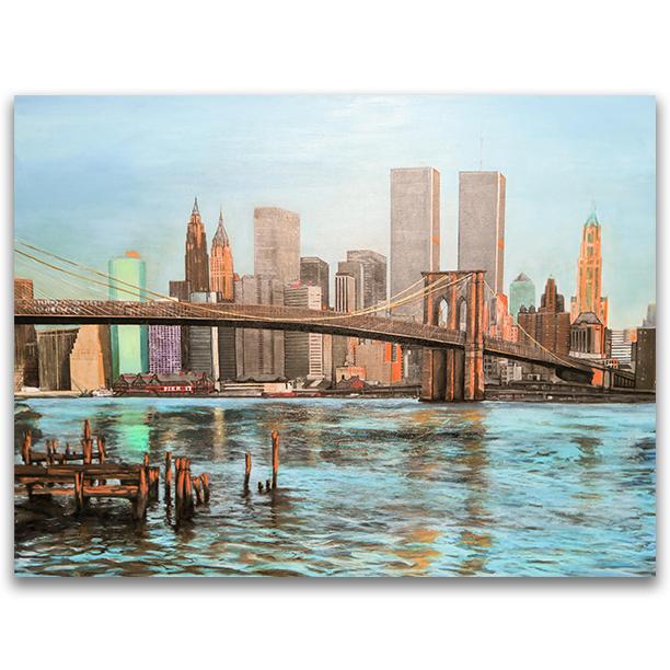 NYC SKYLINE CIRCA 2000