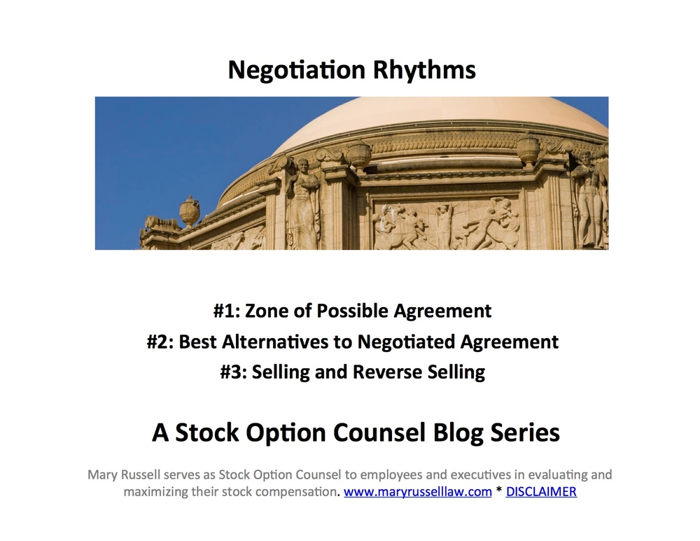 Negotiating stock options