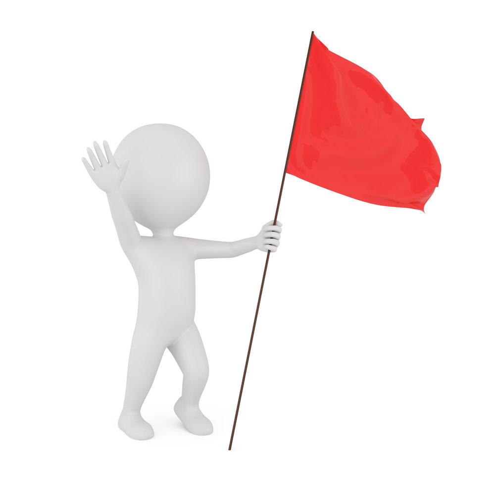 "© Aleksvf | Dreamstime.com - <a href=""https://www.dreamstime.com/royalty-free-stock-photo-3d-man-red-flag-image32275385#res6723680"">3d Man With Red Flag Photo</a>"