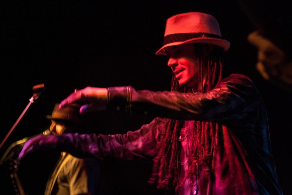 David Cox, tap dancer/percussionist