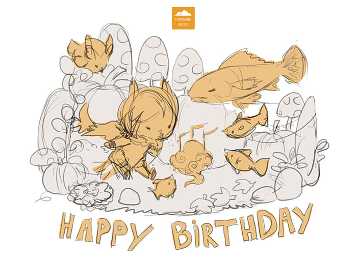 Thank you so much for the birthday wishes!