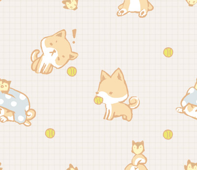Downloadable Shiba Inu Background I Made These Piece As My New Twitter Bg The White Version Ended Up Being Too Bright For Eyes So Toned It Down To