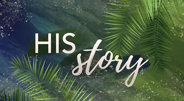 His Story. Over the next 7 weeks, we'll explore the events of passion week - from Jesus' entry into Jerusalem through the morning of the Resurrection. Come see how His Story impacts your story! ——————————————————— Coffee and Donuts will be provided before service. Service starts at 10am. Bring a friend, a family member, or even a coworker that you feel would enjoy this series leading us into Easter Sunday. ——————————————————— Have a good Saturday and see you guys tomorrow!