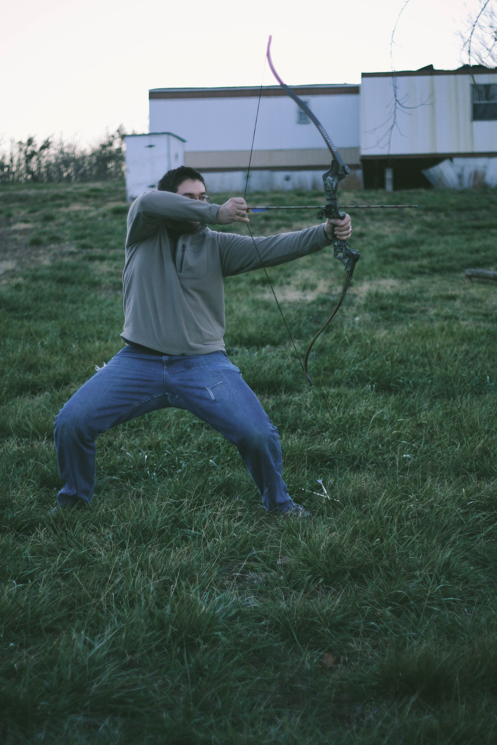 Kung-Fu bow and arrow ;)