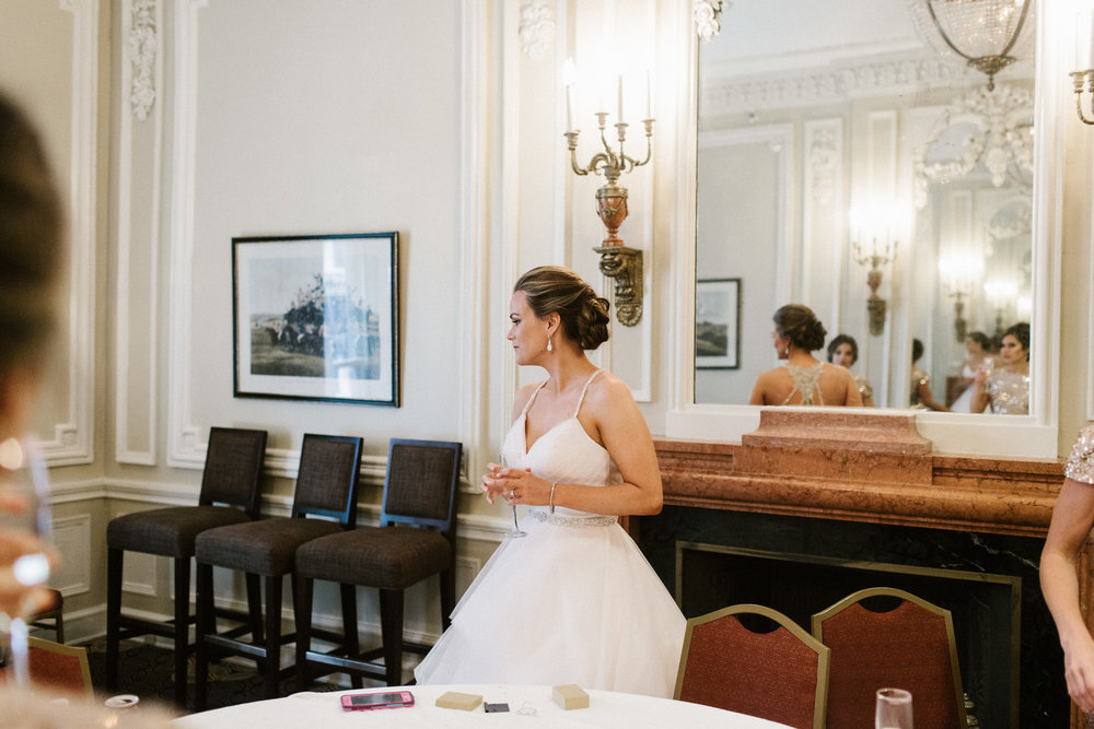 bride at seelbach hilton hotel
