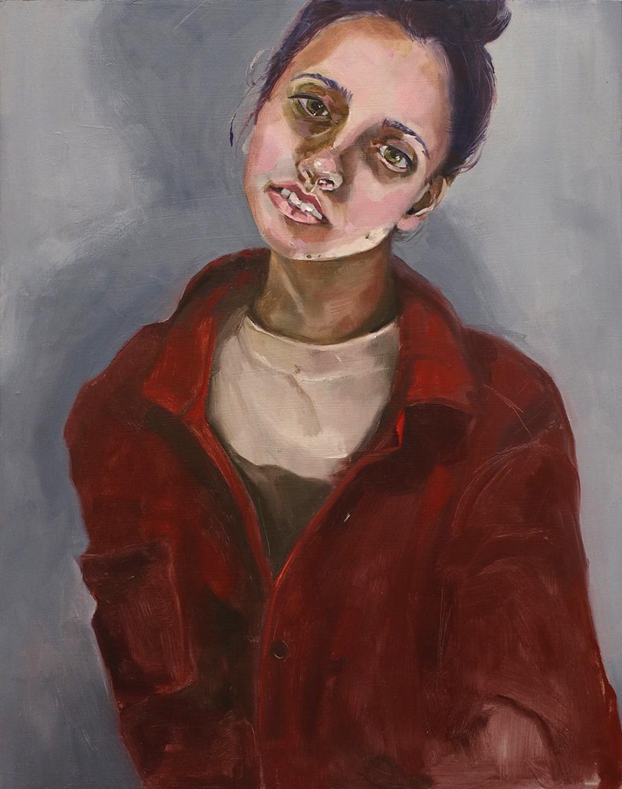Self Portrait in Flannel
