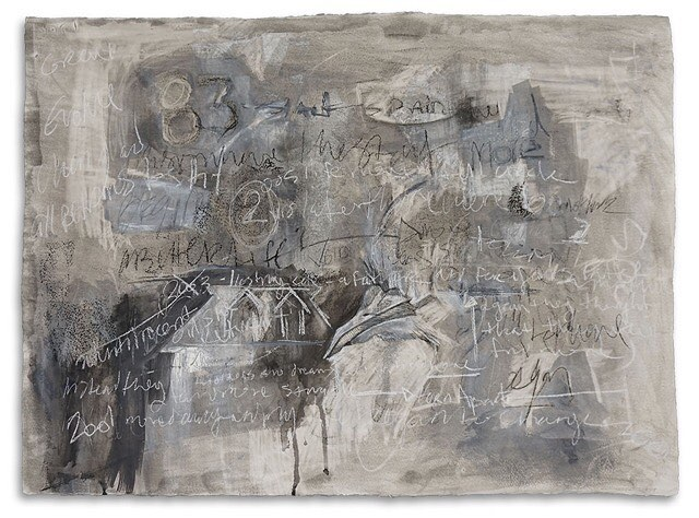 "Looking back at some older drawings I've done. This is a one I did back in 2014. 20""x30"", charcoal, conte and gesso on paper. #drawing #mixedmedia #fineart #art #artwork #artstudio #texture  (at New York Academy of Art)"