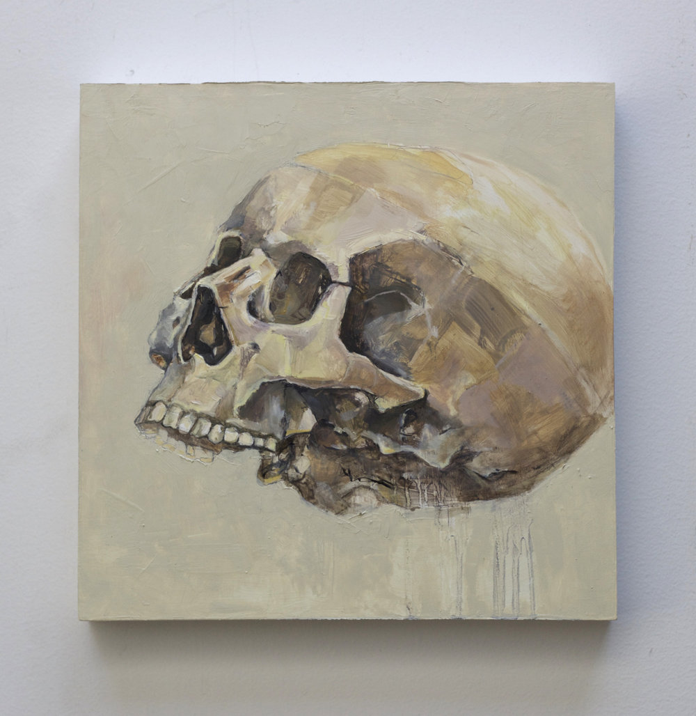 Finally Posted to my  site !  Here is the finished piece.     Untitled    2015 Oil on Panel 10 x 10 x 1.5 inches