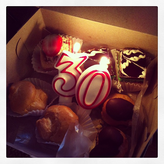 Italian pastries plus the best sisters ever (missing one ;( )..what more could a girl could ask for.  Love u!! #birthday #sisters #love #21again #party #pastries