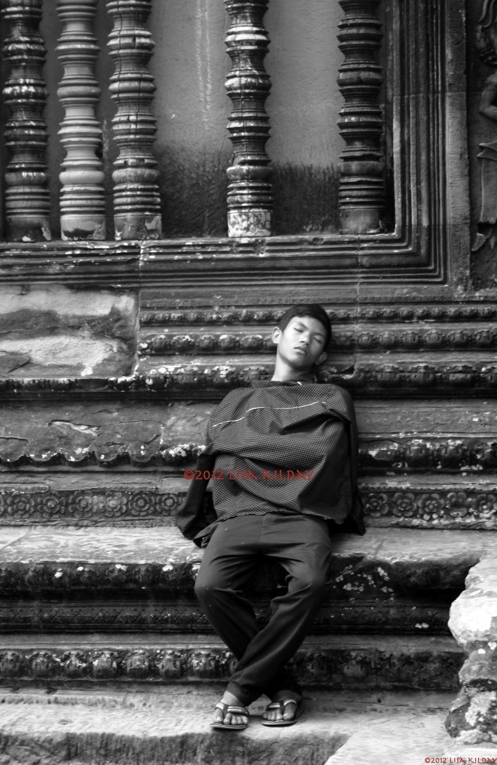 Lazy days in Angkor Wat